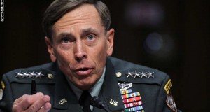 WASHINGTON - JUNE 23:  U.S. Gen. David Petraeus speaks during a confirmation hearing before the Senate (Select) Intelligence Committee June 23, 2011 on Capitol Hill in Washington, DC. Gen. Petraeus will become the director of the Central Intelligence Agency if confirmed.  (Photo by Alex Wong/Getty Images)
